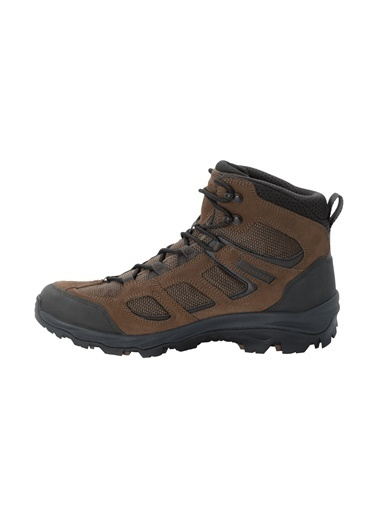 Jack Wolfskin Vojo 3 Texapore Mid Erkek Outdoor Bot Brown-Phantom Renkli